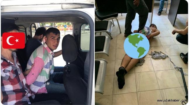 Polis memuru Atakan Arslan'ı şehit eden katilin emniyetteki görüntüleri paylaşıldı