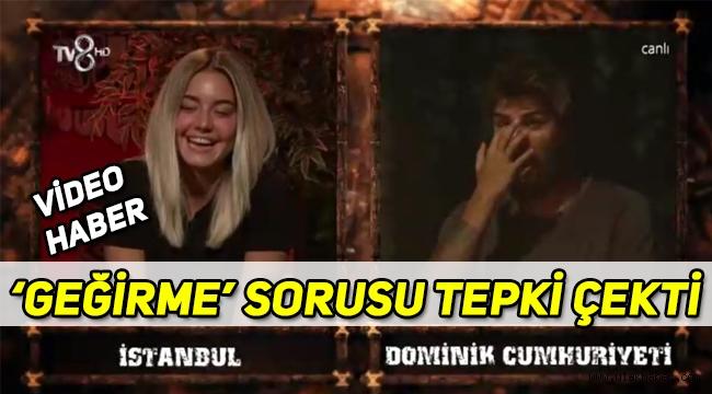 Survivor 2020 finalinde Aycan'dan Barış'a gelen 'geğirme' sorusu tepki çekti!