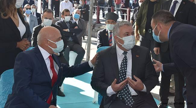 Kayseri'deki Cumhuriyet Bayramı kutlamalarında protokol krizi