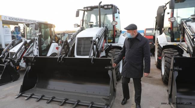 Kocasinan Belediyesi'nin araç filosu genişliyor