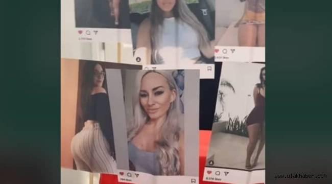 Eşine Instagram'da beğendiği kadın fotoğraflarını hediye etti