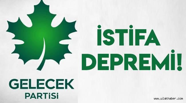 Gelecek Partisi Kayseri'de istifa depremi!