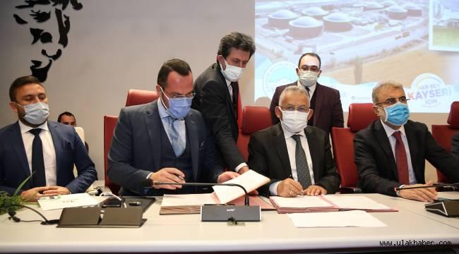 İmzalar atıldı! Kayseri'nin en büyük biyogaz santrali faaliyete geçiyor