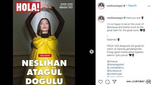Neslihan Atagül'ün şöhreti ABD'ye ulaştı