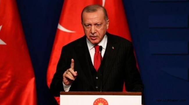 Cumhurbaşkanı Erdoğan: Kesinlikle art niyetli bir bildiri