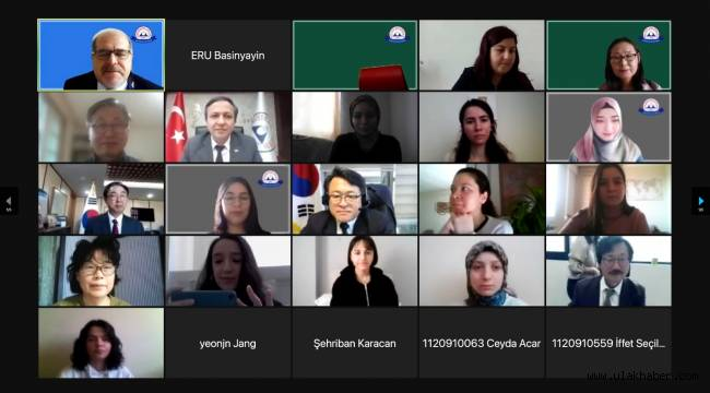 """ERÜ'de """"1. Uluslararası Kore Çalışmaları"""" Konferansı Düzenlendi"""