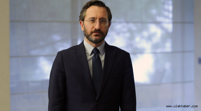 İletişim Başkanı Fahrettin Altun'ndan 'Kanal İstanbul' açıklaması