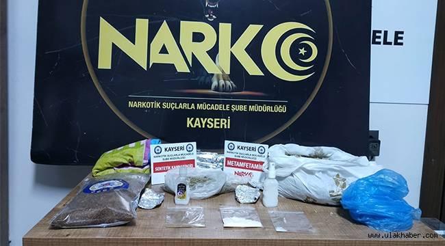 Kayseri'nin son 1 aydaki narkotik tablosu şok etti!