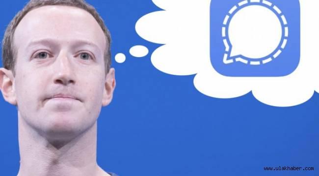 Mark Zuckerberg, güvenlik için Signal kullanıyor