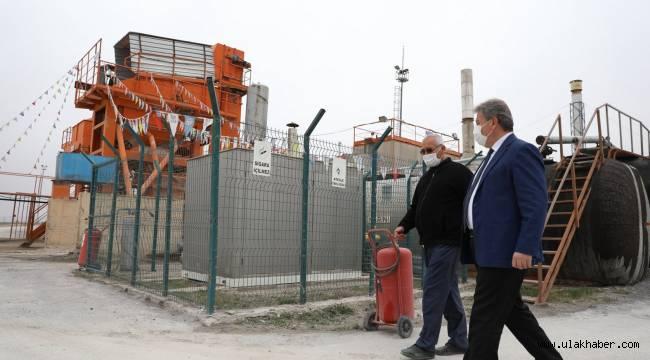 Melikgazi Belediyesi, asfalt çalışmalarını sürdürüyor