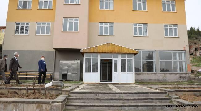 Melikgazi'den Kıranardı Mahallesi'ne yeni sosyal tesis