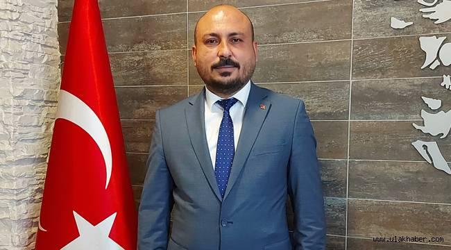 MMO Kayseri Şube Başkanı Süleyman Varol'dan 23 Nisan mesajı