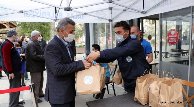 Sosyal belediye Talas'tan alkış alan proje