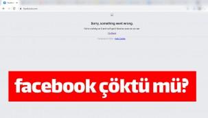 4 Ekim 2021 Facebook çöktü mü? Sorry, something went wrong hatası!