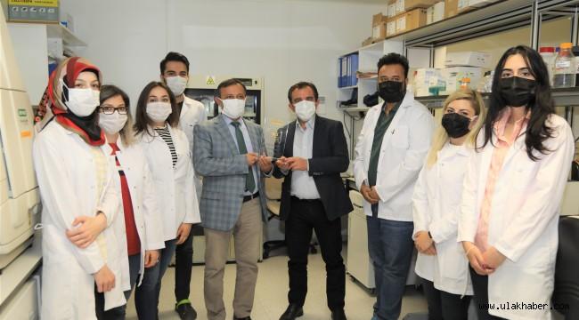 ERÜ Rektörü Çalış, ERAGEM ekibine teşekkür ziyaretinde bulundu