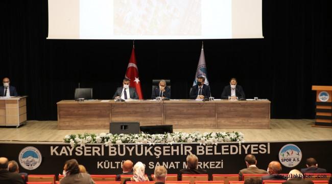 Kayseri Büyükşehir Belediyesi'nde ekim ayı meclis toplantısı yapıldı